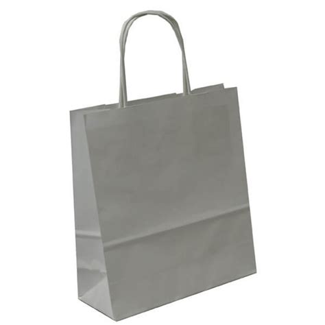 White Paper Craft Bags - white paper gift bags with handles