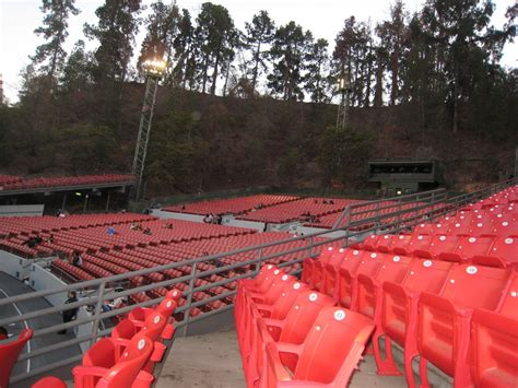 greek theater section c seating section c and benches yelp