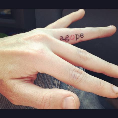 tattoo between finger 60 word tattoos on fingers
