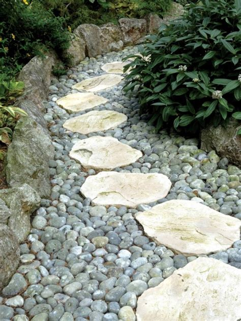 Garden Rocks And Stones 43 Awesome Garden Paths Digsdigs