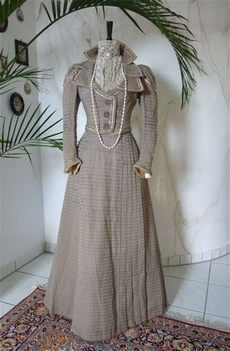 Dress Gray Litthe Black Brocade Bs D 18 1000 images about s fashion 1880s 1890s on
