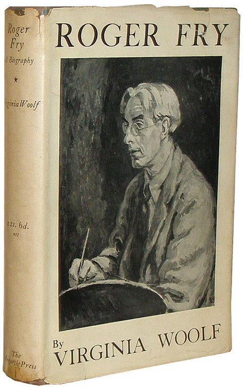 biography book on virginia woolf roger fry a biography by woolf virginia 1940