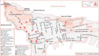 San Juan Puerto Rico Map by Walking Tours Of Old San Juan In Puerto Rico Usa Today