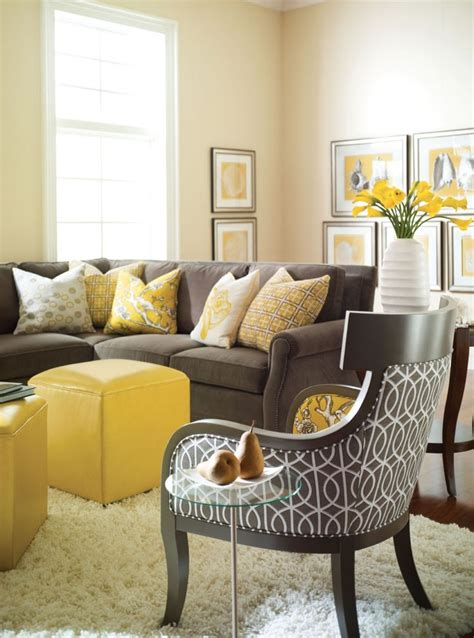 Yellow Living Room Decor Yellow Decor Becoration