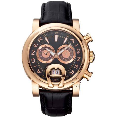Aigner Rubber Black aigner bari chronograph black leather chronobox