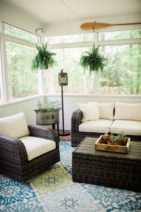 screened porch makeover botb 6 10 16 centsational