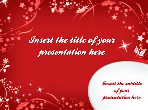 merry christmas template  powerpoint  impress