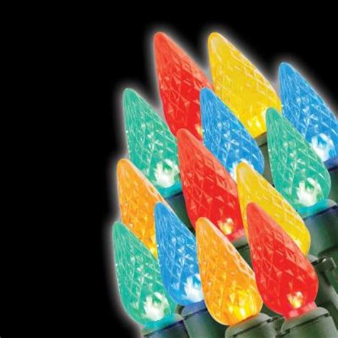 20 light led c3 multi colored battery operated light set