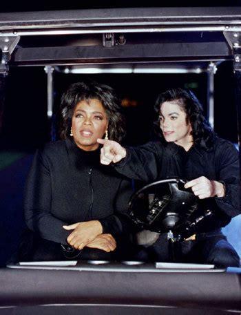 oprah winfrey journalist michael jackson and his celebrity friends michael