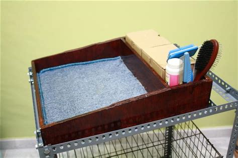 rabbit grooming table grooming table tru rabbitry quality lops in