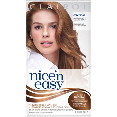 clairol nice n easy hair color 110 natural light auburn search clairol nice n easy permanent hair color natural