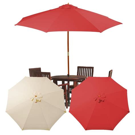 Canopy Umbrellas For Patios High Quality Patio Umbrella Canopy Replacement 5 Umbrella Replacement Canopy For 9ft 8 Ribs