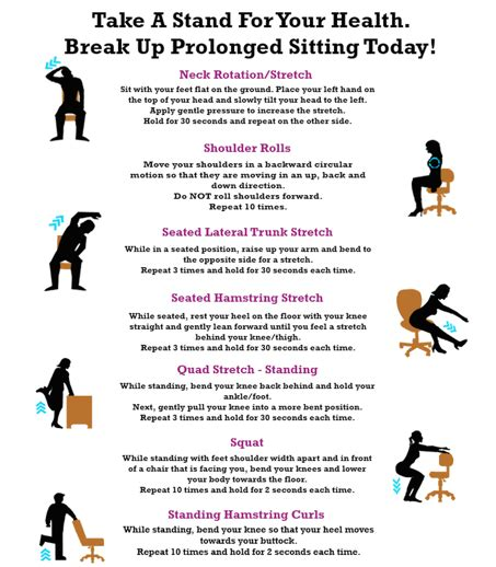 stand up desk exercises simple desk exercises you can do in the office shape