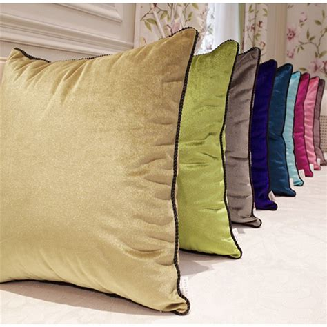 home design down pillow luxurious velvet velour pillow cover decorative cushion