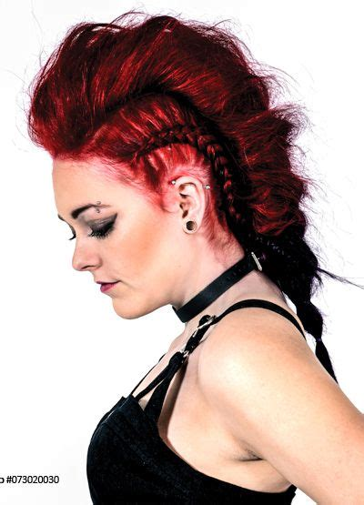 Rock Hairstyle by Rock Hairstyle Manic Panic Hairdye