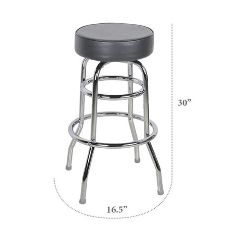 Bar Stool Black Chrome by Black Chrome Bar Stool Charming Chairs