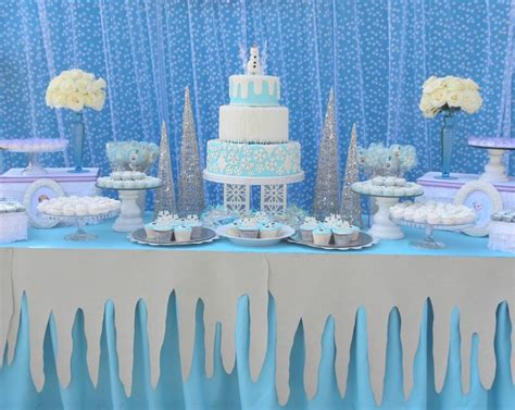 frozen decorations ideas frozen decorations for a festive winter fete