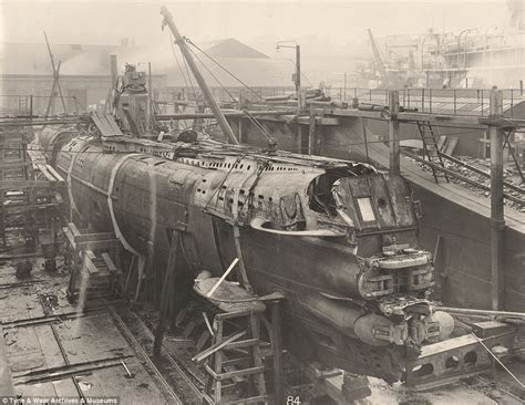 The century-old images of a German WWI U-Boat raised from ... U Boat
