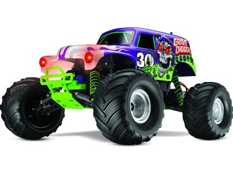 traxxas grave digger rc monster traxxas monster jam grave digger tqi rtr tra3603x astra