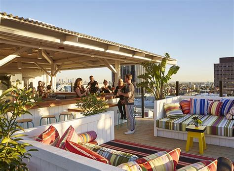 top bars in hollywood los angeles best new rooftop bars and restaurants