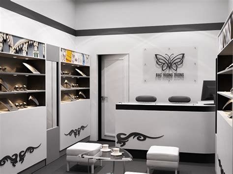 small shop decoration ideas small silver jewellery store on behance