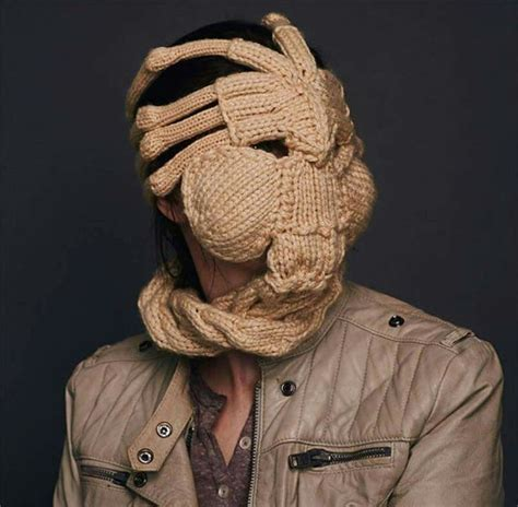 knitted facehugger 49 best images about crochet and knit on