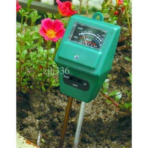 Alat Pengukur Ph Tanah Yg Bagus alat pengukur kelembab tanah pengukur ph intensitas
