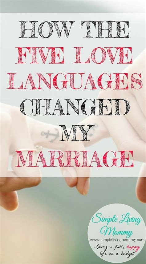 5 languages of love physical touch in marriage