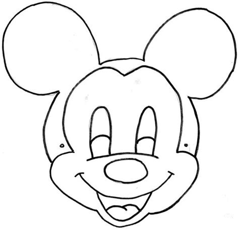 16 best images about templates on pinterest disney minnie mouseprintable masks to color mickey mouse mask