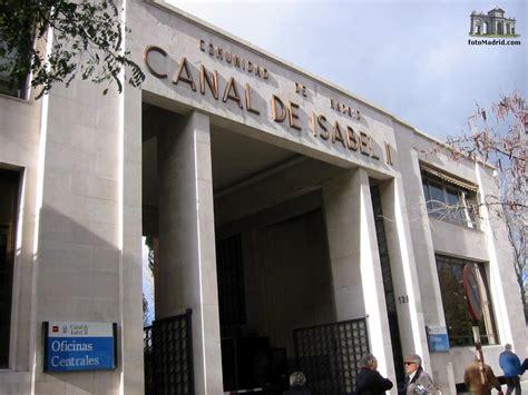 el canal de isabel ii propone congelar la tarifa del agua  los hogares madrilenos por tercer