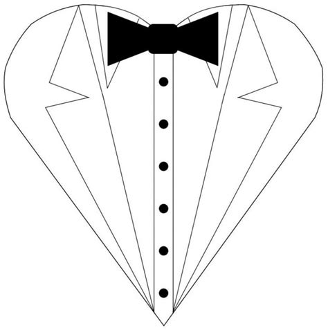 tuxedo card templates and 17 best images about iced biscuits wedding and hearts on
