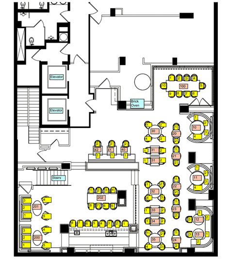 restuarant floor plan gramercy flatiron rustic italian restaurant with outdoor