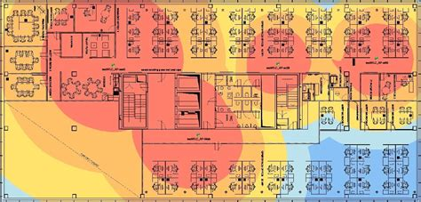 Create A Floor Plan by Wi Fi Heat Maps Wireless Heat Map Software Solarwinds