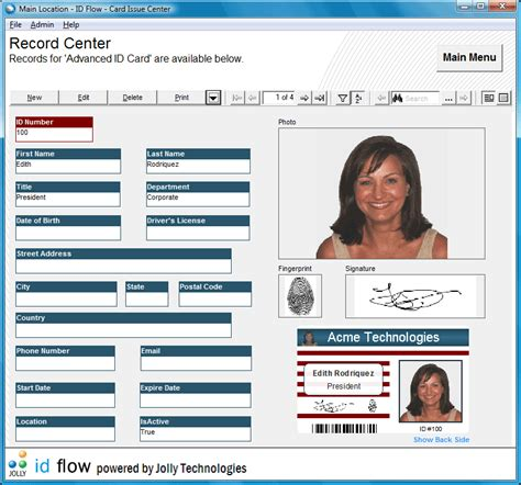 card software free id card design software