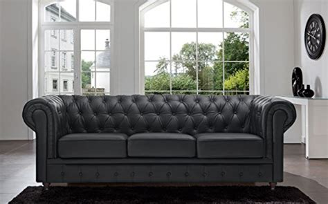 black and white tufted sofa classic scroll arm tufted button bonded leather