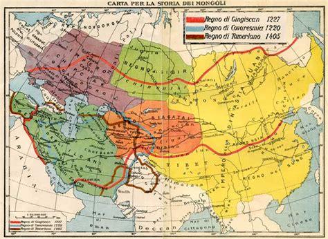 gengis khan tamerlano i mongoli biografia