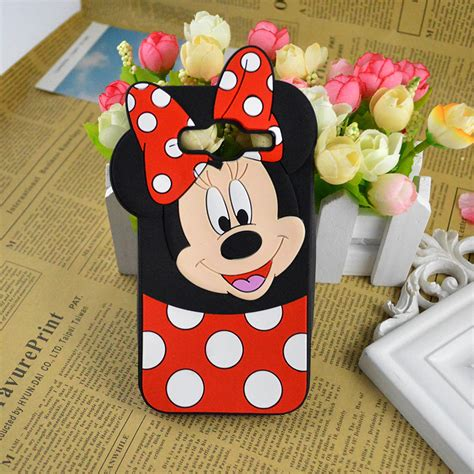 Samsung J5 3d Silicone Mickey Minnie Mouse Cover Casing Bumper buy wholesale mouse samsung from china mouse