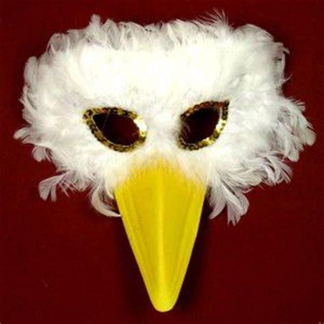 goose mask white goose yellow beak bird chicks crow