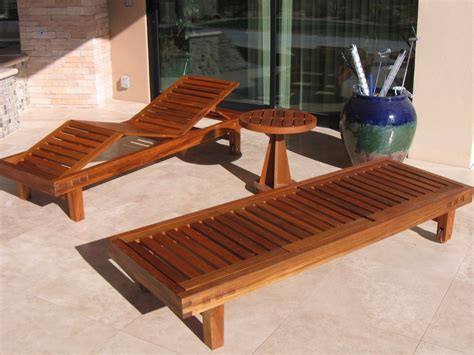 Handmade Outdoor Wood Furniture - handmade teak patio furniture by riverwoods mill