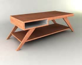 pdf diy mid century modern coffee table plans download