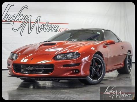 2001 Chevrolet Camaro SS 1LE Coupe for sale