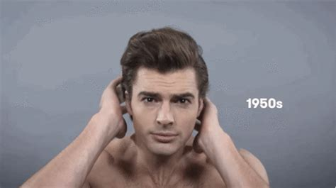 mens hair styles during the last 100 years here s what 100 years of men s beauty trends looks like