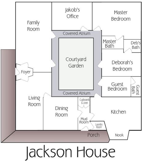 floor plan with courtyard in middle of the house best 25 hacienda homes ideas on pinterest spanish