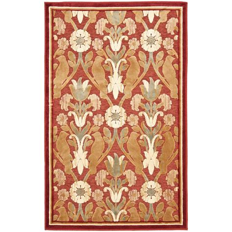 rug 4 x 7 safavieh paradise 2 ft 7 in x 4 ft area rug par45 202 24 the home depot