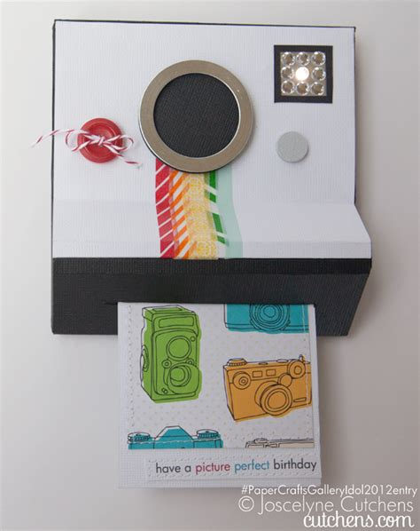 Diy Polaroid Pop Up Card Template by Paper Crafts Gallery Idol 5 Interactive Cards