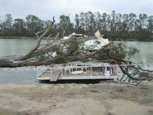 houseboat accident tree crushes murray houseboat abc riverland sa