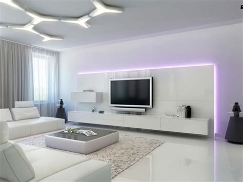Bien Meuble De Rangement Suspendu #5: meuble-suspendu-de-salon-meuble-tv-blanc.jpg