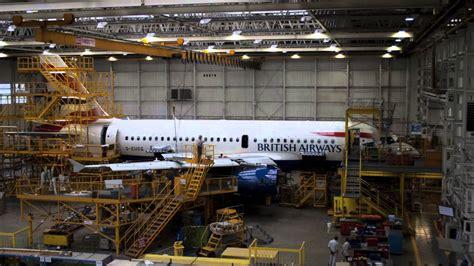Glasgow Airport Airways Desk by Airways Maintenance Glasgow Time Lapse A319 C