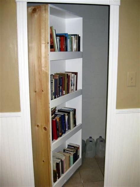 swinging bookcase door secret swing in bookcase door stashvault