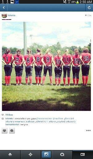 cute themes for teams cute softball team picture photograph pinterest team